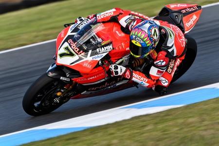 Chaz Davies Ducati Sbk Australia 2017