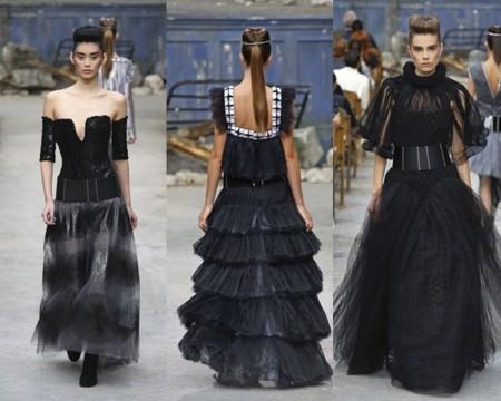 Vestidos negros Chanel