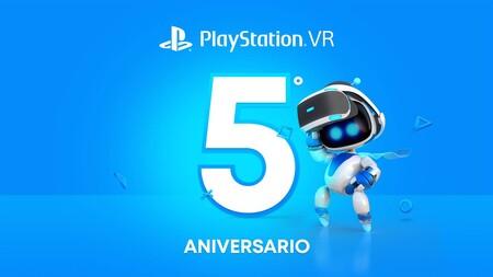 PlayStation VR celebra su quinto aniversario regalando tres juegos que se podrán descargar gratis en noviembre
