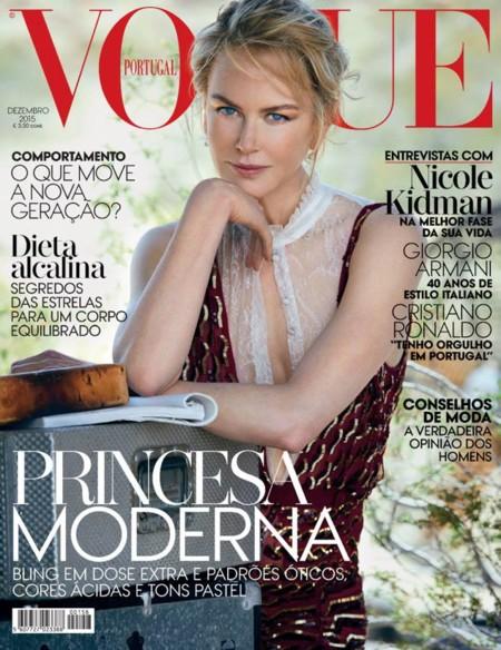 Vogue Portugal: Nicole Kidman