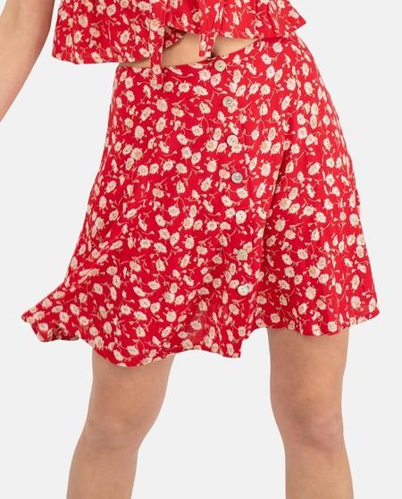 mini falda borownie