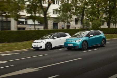 Volkswagen ID.3 en marcha