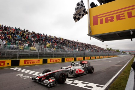 Button Canada F1 2011