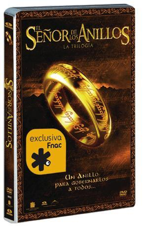 Trilogía de El Señor de los Anillos en DVD