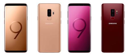 Samsung refresca sus Galaxy S9 con dos nuevos colores: Sunrise Gold y Burgundy Red