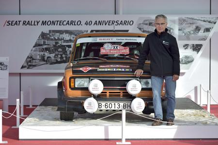 Salvador Cañellas con el SEAT 124 Especial 1800 Grupo 4