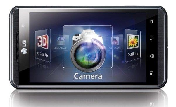 LG optimus 3D con Vodafone