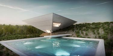 Pyramid Solo House, una casa psicodélica en el Matarraña turolense