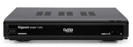 Sintonizador TDT Gigaset M280T con servicio InOut TV