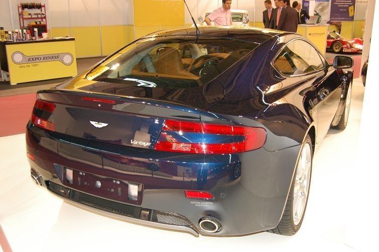 Foto de Aston Martin en el Salón de Barcelona 2007 (3/5)