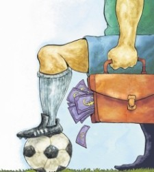 Critican los sueldos de los futbolistas