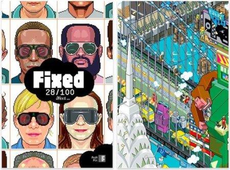 eBoy FixPix, un divertido puzzle en tres dimensiones