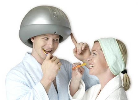 Kinatech Headtime, un casco masajeador para reducir el estrés diario