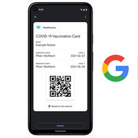 Google Pay te permitirá almacenar tu certificado COVID