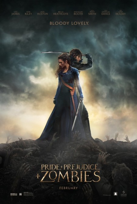 Nuevo cartel de Pride And Prejudice And Zombies