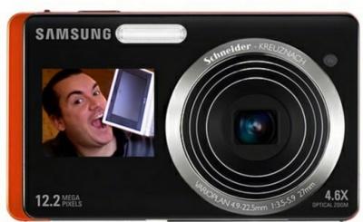 Samsung ST500 y ST550, con pantalla delantera y trasera