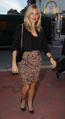 Los dos últimos looks de Sienna Miller: estilo de calle