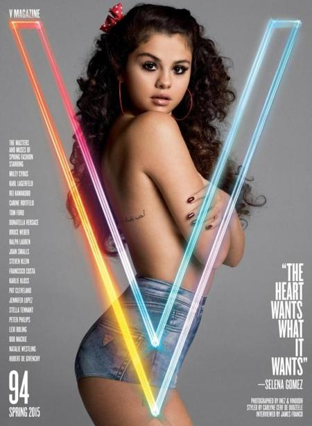 Mira tú qué sexy se pone Selena Gomez en V Magazine