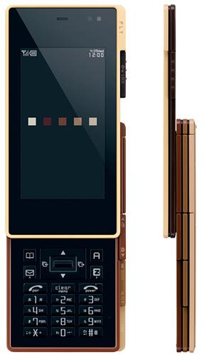 iida Ply, curioso diseño en un móvil japonés