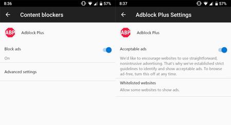 Microsoft Edge Beta añade bloqueo de publicidad con Adblock Plus