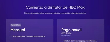 Cómo cambiar tu suscripción de HBO Max, pasando de mensual a anual y viceversa