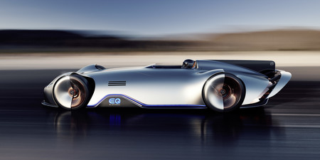 Mercedes Benz Eq Silver Arrow 120