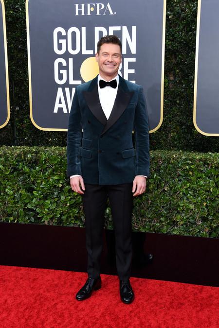 Ryan Seacrest Red Carpet Alfombra Roja Trendencias Hombre Globos De Oro Golden Globes 2020 02