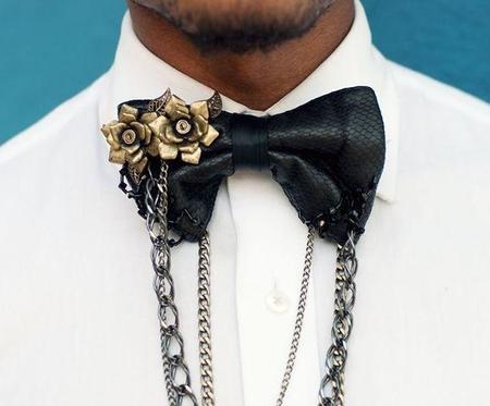 Christopher Chaun presenta una nueva forma de lucir la corbata de moño