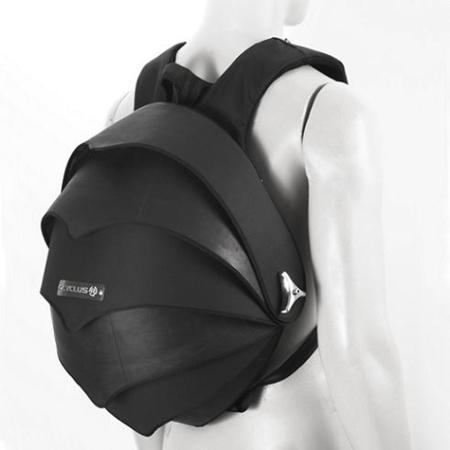 Pangolin Bag, mochila con caparazón