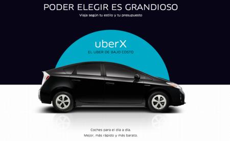 Uber quiere competir aún más y baja los precios de su servicio UberX en el D.F.
