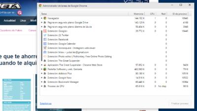 Suspende las pestañas inactivas en Chrome para ahorrar recursos con esta extensión