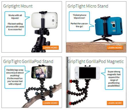 Curso de fotografía con Android (XII): accesorios prácticos