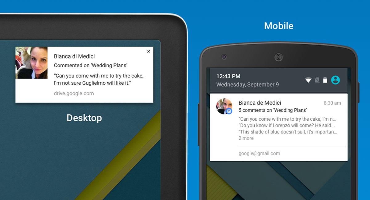 Google Docs, Sheets y Slides ahora te envían notificaciones de nuevos comentarios