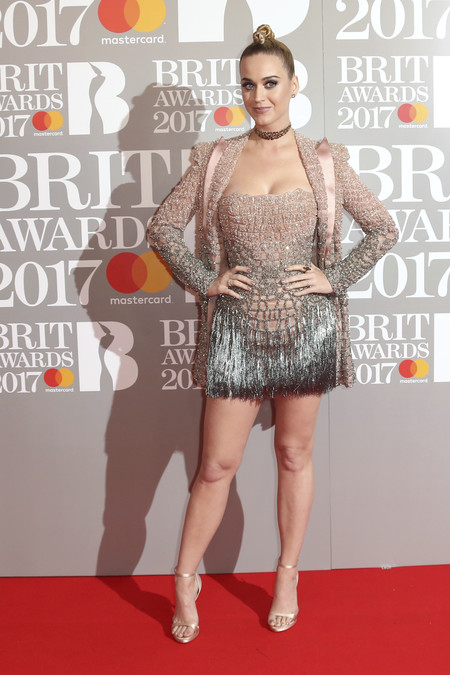 Katy Perry Brit Awards peor vestidas 2017