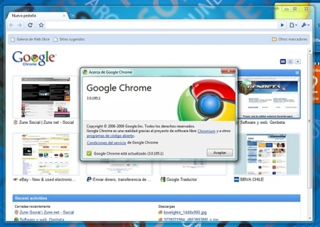 Sony distribuirá Google Chrome en sus Vaio