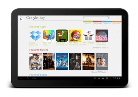 Nexus 7 con Google Play