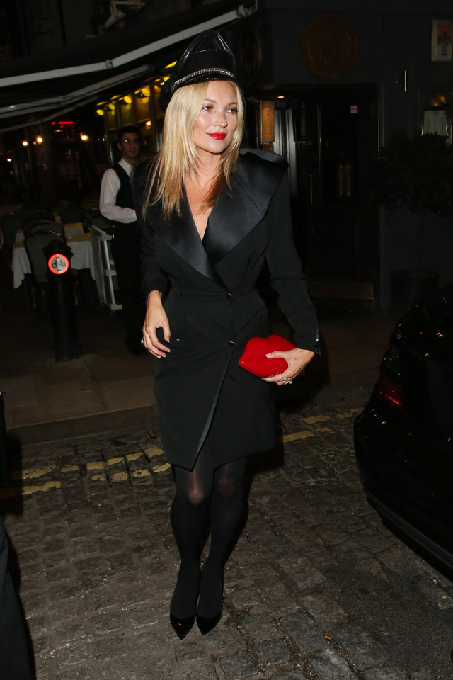 labios Kate Moss Londres fiesta
