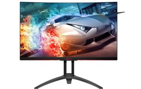 AOC presenta su nuevo monitor para jugones, el AGON AG322QC4, compatible con DisplayHDR 400 y FreeSync 2