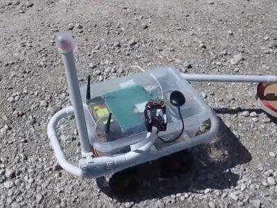 ¿Un robot detector de metales? La Raspberry Pi, como siempre, al rescate