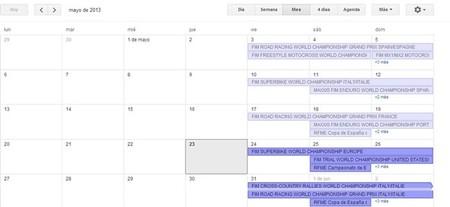 Calendario de competiciones internacional y nacional, 24 al 26 de mayo