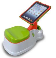 Un orinal con soporte para el iPad: sin miedo a las salpicaduras