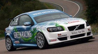 Curiosidades en competición: Volvo S30 Bioetanol STCC