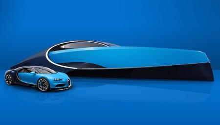 Si te apetece un yate a juego con tu Bugatti Chiron, el Bugatti Niniette 66 es su versión náutica