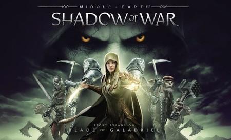 Aquí tienes el tráiler de La Espada de Galadriel, la nueva expansión del Sombras de Guerra ya disponible