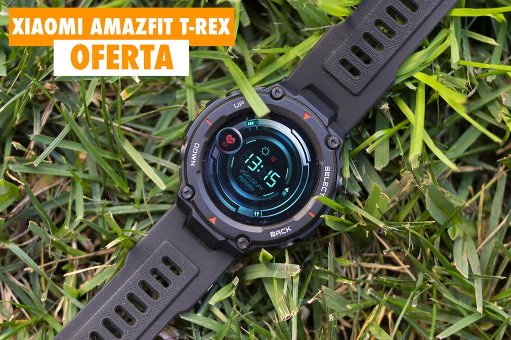 Amazfit T-Rex, el smartwatch de Xiaomi con resistencia militar y una autonomía bestial, hoy rebajadísimo con este cupón: sólo 92 euros