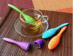 Cucharas de silicona para té