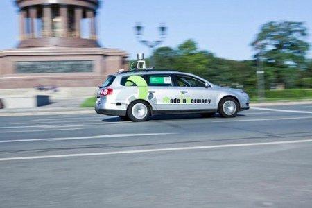 En Berlín: un auto que se maneja solo