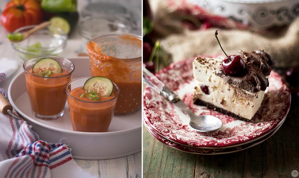 Paseo por la gastronomía de la red: un menú de verano completo con productos de temporada