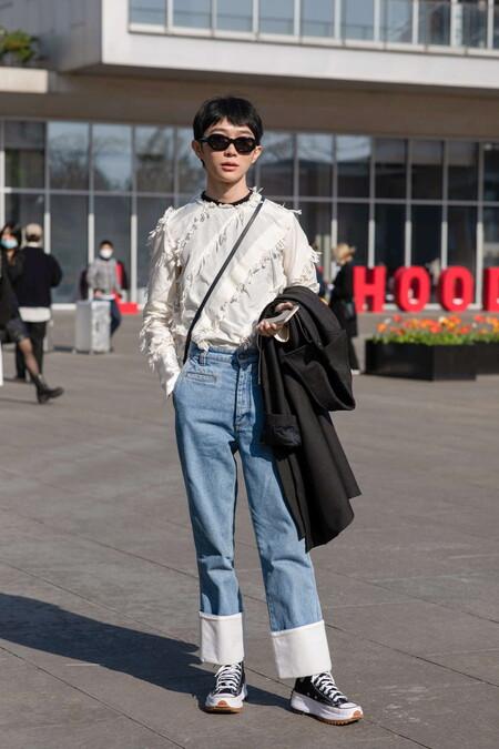 El Mejor Street Style De La Semana Shanghai Primavera 2021 03