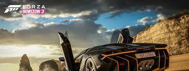 Forza Horizon 3 se actualiza en Xbox One X para mejorar su calidad visual con gráficos en 4K